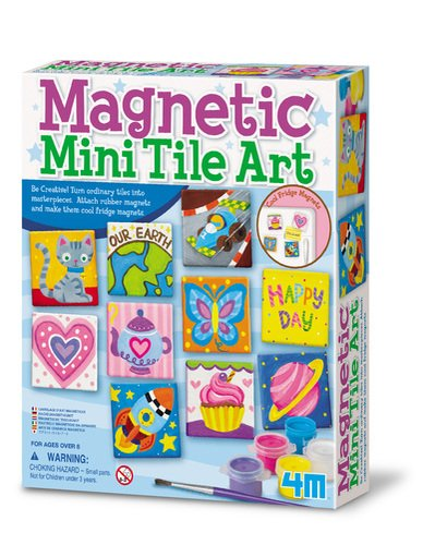 Product Image of the 4M Magnetic Tile Art
