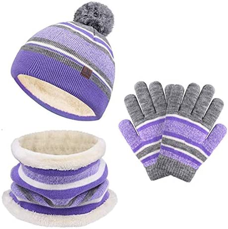 Childrens hat scarf and gloves set _image0