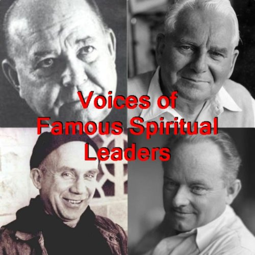 Voices of Famous Spiritual Leaders audiobook cover art