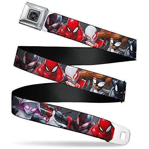 Buckle-Down Kids' Standard Seatbelt Belt-6-Spider Hero...