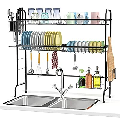 Over The Sink Dish Drying Rack from