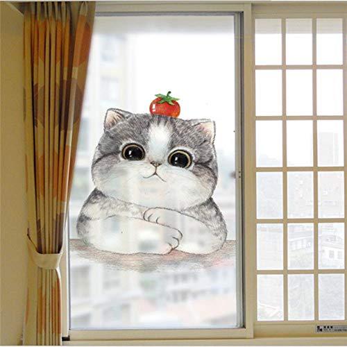 20 ontwerpen film op glas zelfklevende raamfolie sticker glasfilm privacy decoratie glas sticker film 60x58cm, fdyg458
