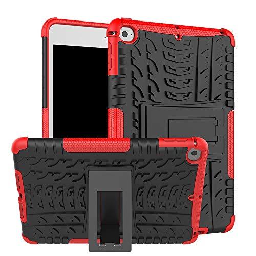 XYAL0002001 Xingyue Aile - Fundas para iPad Mini 5 A2133 A2126 A2125 A2124, a prueba de golpes, soporte trasero, funda para tablet iPad Mini 4 A1538 A1550 (color: rojo)