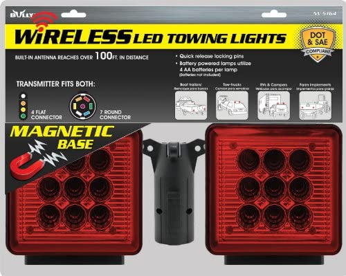 Wireless Tow Light Package Max 65% OFF Mounts with Max 79% OFF Magnetic