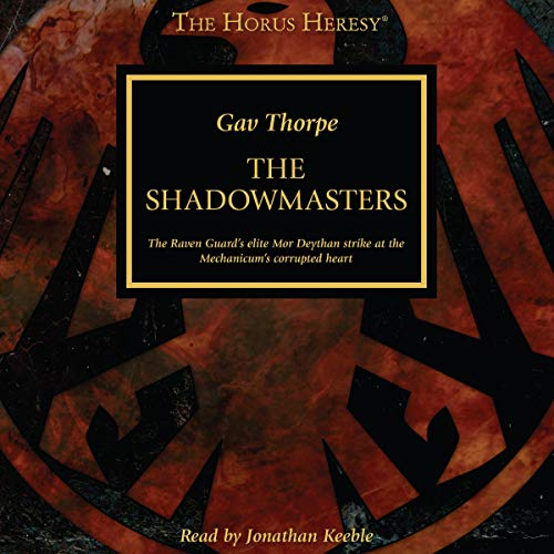 The Shadowmasters cover art