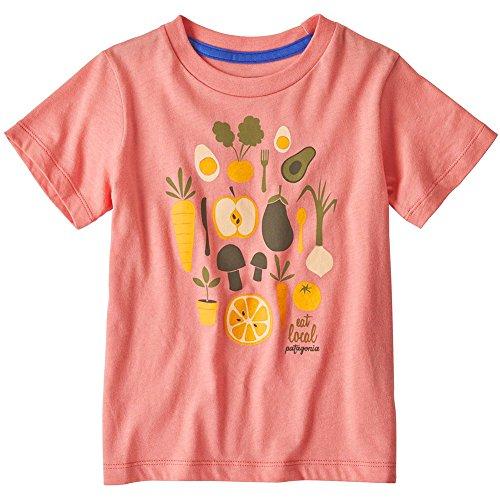 Patagonia Baby Graphic Organic T-Shirt Tricot Mixte Enfant, 6 Meses