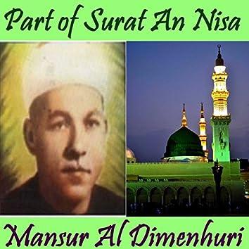 Part of Surat An Nisa (Quran)