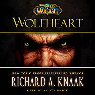 World of Warcraft: Wolfheart audiobook cover art