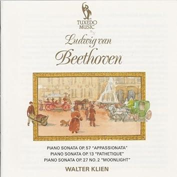 Beethoven: PIano Sonatas Op, 57, Op. 13, Op. 27 No.2
