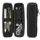 Cikuso Black EVA Hard Shell Stilo Pen Pencil Case Holder Protective Carrying Box Contenitore Di Stoccaggio Per Penna Penna A Sfera Stilo Matita Cavi USB