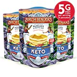 Keto Pancake & Waffle Mix by Birch Benders, Low-Carb, High Protein, Grain-free, Gluten-free, Low...
