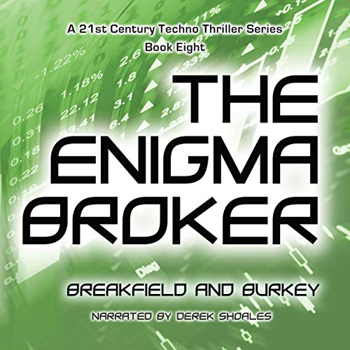 The Enigma Broker audiobook cover art