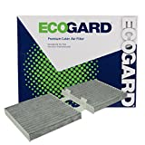 ECOGARD XC10012C Premium Cabin Air Filter with Activated Carbon Odor Eliminator Fits BMW X3 2013-2017, X4 2015-2018
