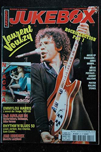 JUKEBOX 211 2004 12 - L. VOULZY - Niagara - Emmylou Harris - J Hendrix - Undertakers Untamed L Jordan Ray Charles S Cooke