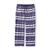 Laura Scott Women Purple Pajama Pants Plush Microfleece Sleepwear Size MEDIUM