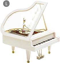 Caja De M/úsica De Piano Negro De Relojer/ía Ejecuci/ón De Melod/ía Caja De Papel De Regalo del Danubio Azul