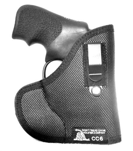 Don't Tread on Me Conceal and Carry Holsters DTOM Combination Pocket/IWB Holster for Ruger LCR Revolver CC6