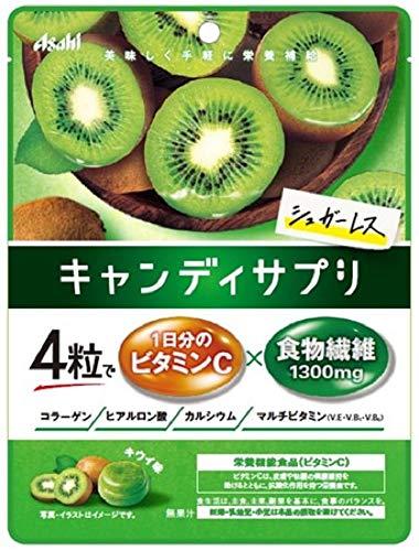 アサヒグループ食品 キャンディサプリ 1日分のビタミンC 64g ×4個