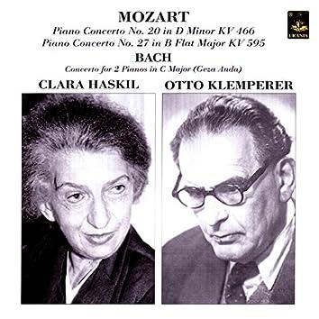 Mozart: Piano Concerto Nos. 20 & 27 - Bach: Concertos for 2 Pianos Bwv 1061