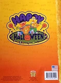 Sesame Street Halloween Spooky Monsters Coloring & Activity Book