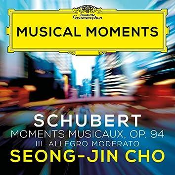 Schubert: 6 Moments musicaux, Op. 94, D. 780: III. Allegro moderato (Musical Moments)