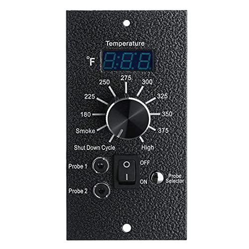 LHQ-HQ Tablero de Controlador de termostato Digital AH-039F AC 120V para Todo Traeger Bac23 Pellet