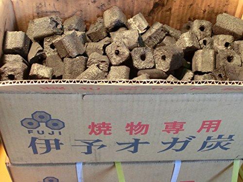 備長炭 炭 木炭 バーベキュー 富士炭化工業 焼物専用伊予オガ炭(3-5cm)10kg 国産品最高峰のオガ炭