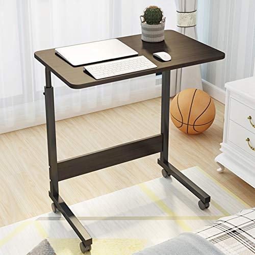 WSJIANP Laptop Bed Table,Portable Movable Study Desk,Adjustable Height PC Laptop Table,Computer Workstation,Office Desk