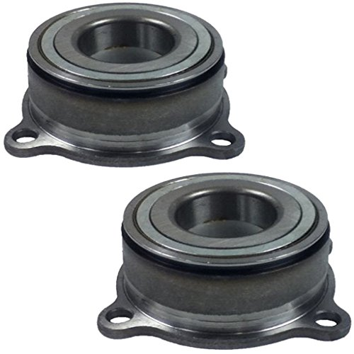 Detroit Axle Both (2) Rear Driver and Passenger Side Complete Wheel Bearing Module for Automatic Transmission for 2005-2014 Nissan Frontier/Suzuki Xterra - [09-12 Equator]