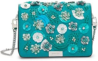 3b804071b94c5b MICHAEL Michael Kors Jade Gusset Floral Sequined Leather Clutch Purse