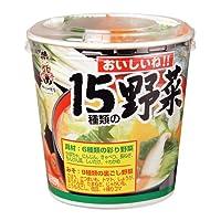 神州一 おいしいね ! 15種類の野菜 23.5g×6個