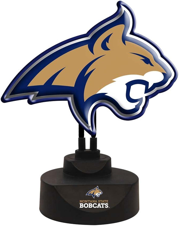 Memory Company NCAA Montana State University Team Logo Neon Lamp, One Size, Multicolor