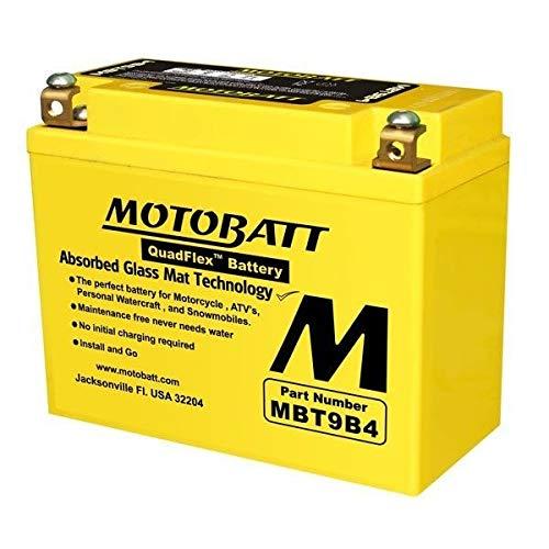 Bateria Agm Motobatt Mbt9b4 Yamaha Mt 03 660cc/ Xt 660 Z Tenere