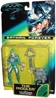 BATMAN FOREVER: The Riddler with Capture Brain Drain Helmet