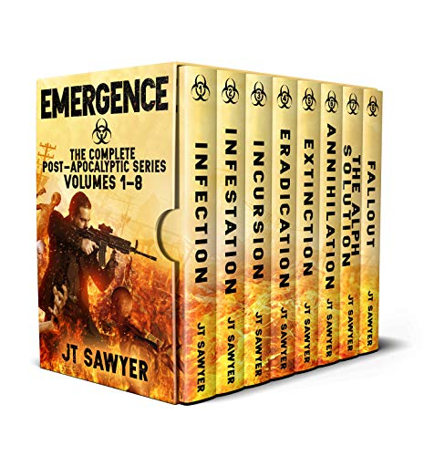 Emergence Boxed Set: The Complete Post-Apocalyptic Series, Volumes 1-8 (Emergence Series Book 9) by [JT  Sawyer]