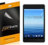 (3 Pack) Supershieldz for Nextbook 7 inch Tablet 16GB Quad Core (NX700QC16G) Screen Protector, High Definition Clear Shield (PET)