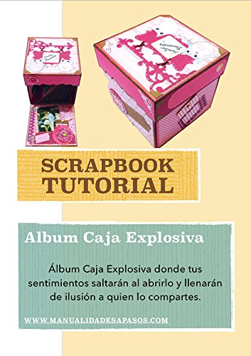 Tutorial Paso A Paso Album Caja Explosiva Spanish Edition Ebook Apasos Manualidades Kindle Store