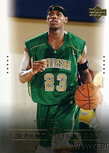 LeBron James 2003 Upper Deck Box Set #6 ROOKIE Card in Mint Condition! NBA and Olympic World Champion! Cleveland Cavaliers!Shipped in Ultra Pro Snap Card Holder to Protect it!