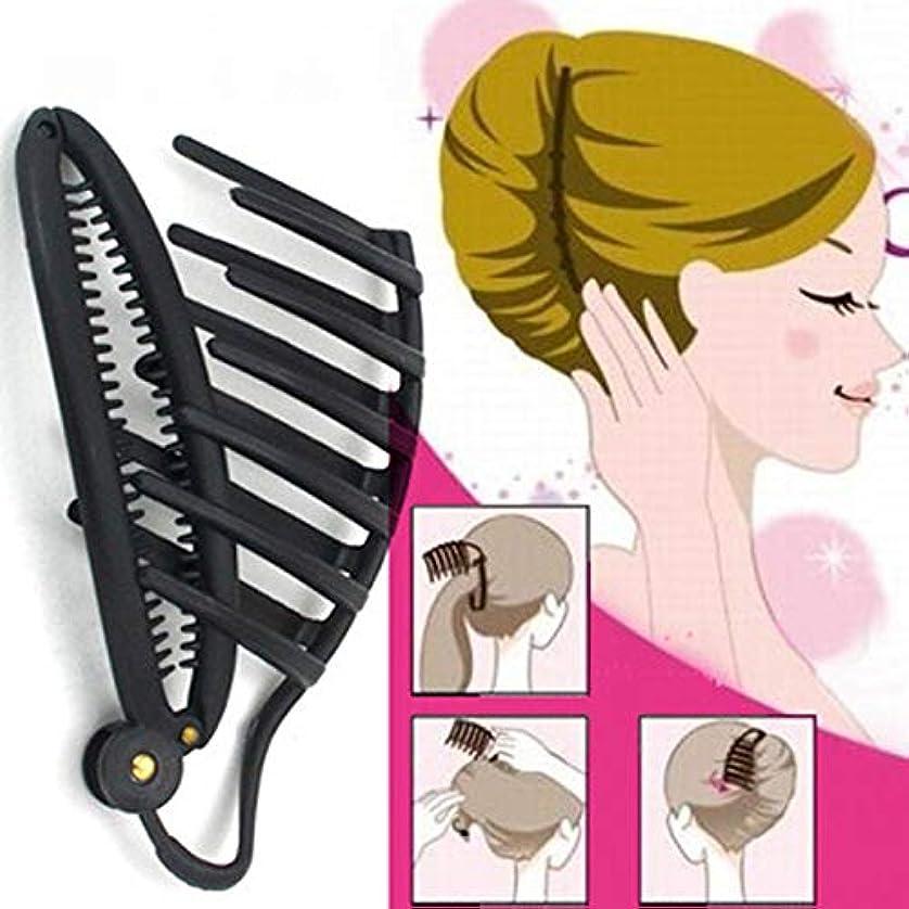 レールハブブ販売員Rabugoo 女性のヘアクリップスタイルツールブライドヘアデバイスアクセサリー