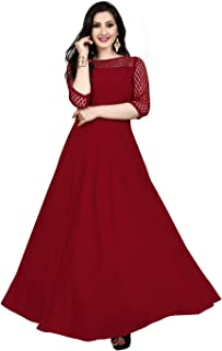 8e6699ac72887 3XL Women's Ethnic Gowns: Buy 3XL Women's Ethnic Gowns online at ...
