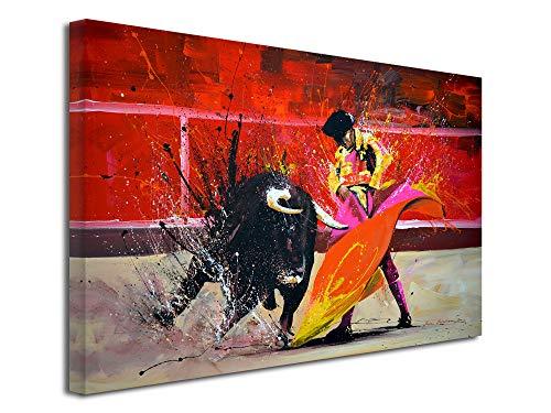 DECLINA - Cuadro de gran formato, reproducción, cuadro sobre lienzo, decoración de salón, lienzo moderno, reproducción de pintura sobre lienzo, 50 x 30 cm
