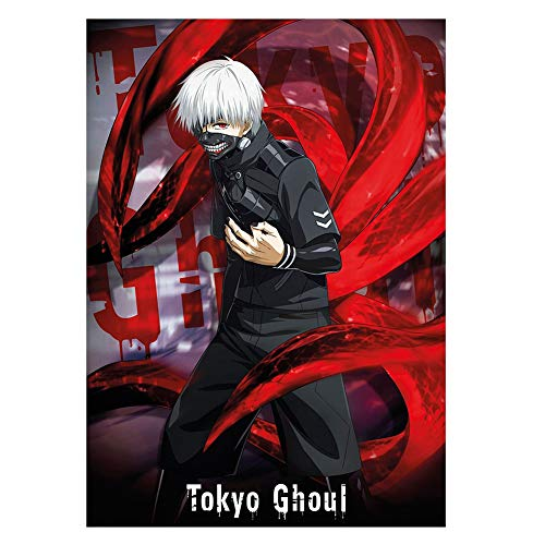 SGOT Anime Poster Tokyo Ghoul Kaneziki Hochwertiger Beschichtetes Papier Kunstdruck als Wandbild Raum Dekoration Thema Dekoration (30 * 42cm/A3)
