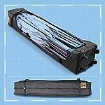 Gorilla Gazebo ® Pop Up 3x3m Heavy Duty Waterproof Commercial Grade Market Stall 4 Side Panels and Wheeled Carrybag…
