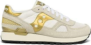 Saucony Originals Women's Shadow Original Sneaker White/Gold 7 M US