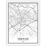 Leinwand Bild,Norwich Großbritannien Großbritannien