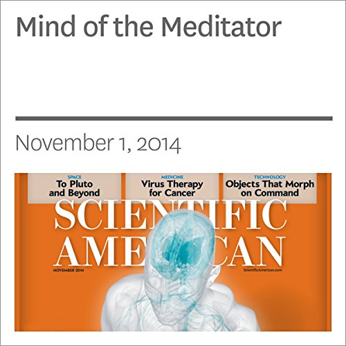 Mind of the Meditator audiobook cover art