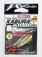 がまかつ(Gamakatsu) KABURA JIG カブラ ジグ 2.5g レッドヘッド レインボー