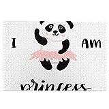 KIMDFACE Rompecabezas Puzzle 1000 Piezas,Yo Soy la Princesa Panda,Puzzle Educa Inteligencia Jigsaw Puzzles para Niños Adultos