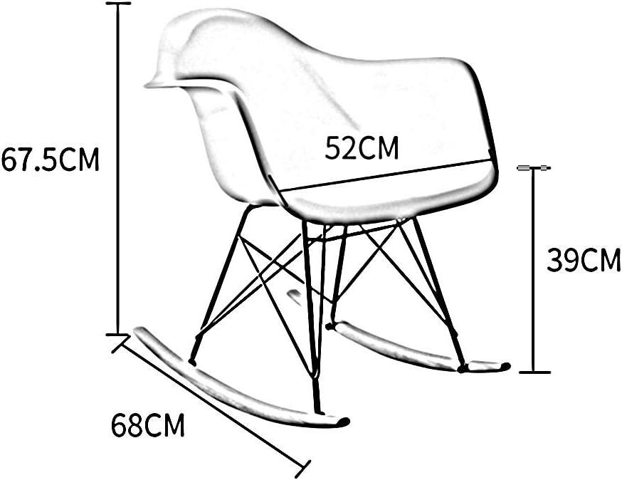 Chaise De Salle À Manger Ménage Bois Massif Chaise De Négociation Simplicité Moderne Dossier En Tissu (Couleur : Jaune) Blanc
