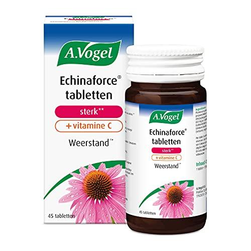 A.Vogel Echinaforce Sterk** + Vitamine C (45 Tabletten)